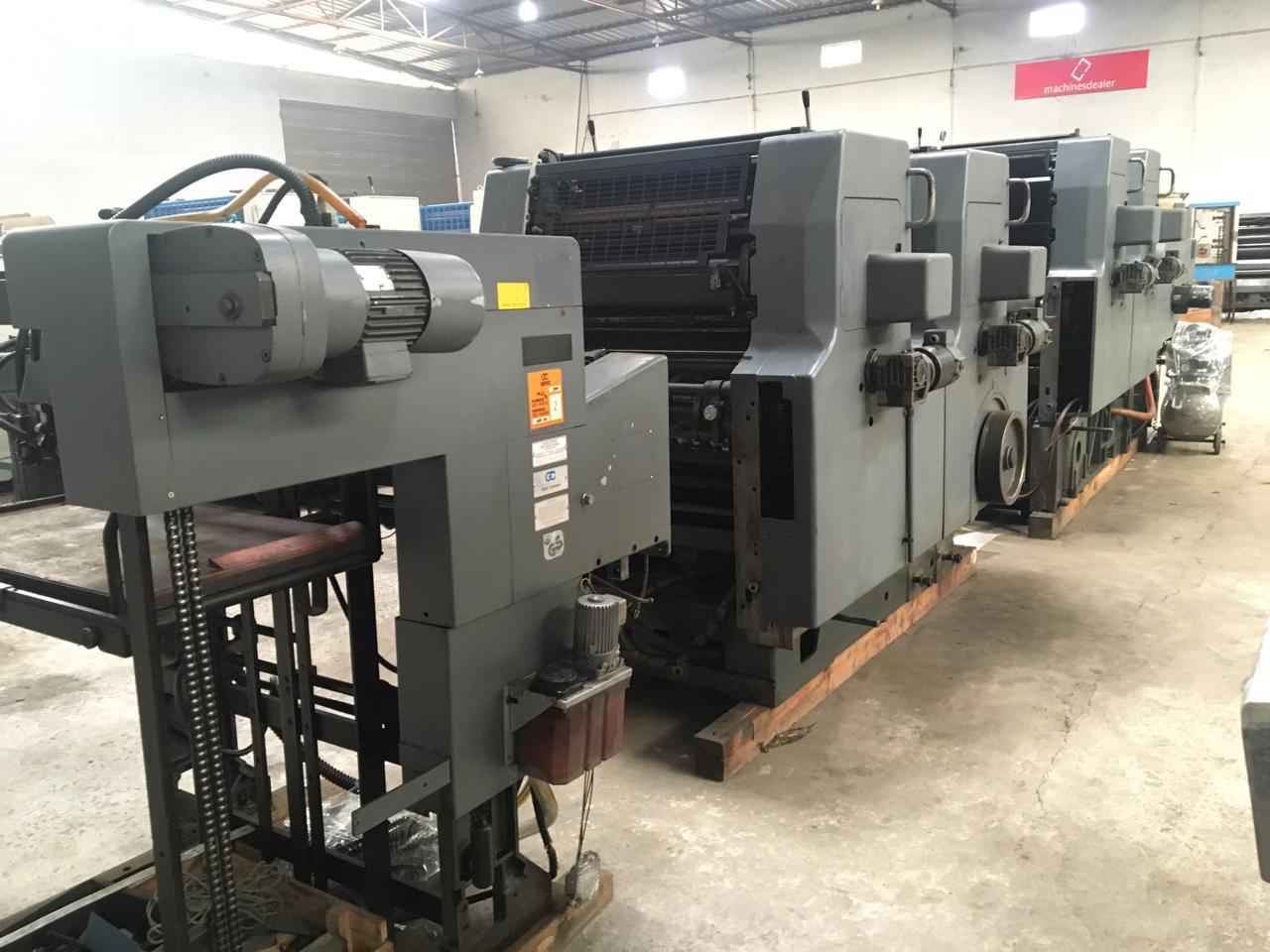 Four Colour Offset Printing Machine Movh