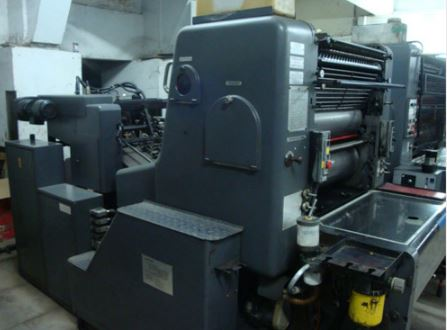 Double Colour Offset Printing Machine Polly 266