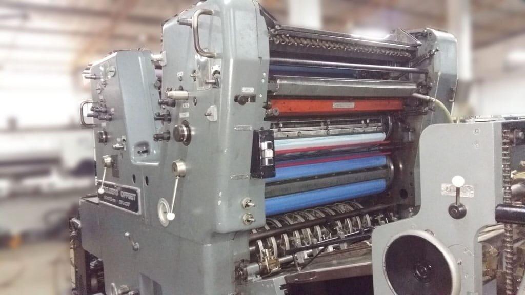 Double Colour Offset Printing Machine Sordz