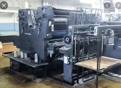 Double Colour Offset Printing Machine Sorsz