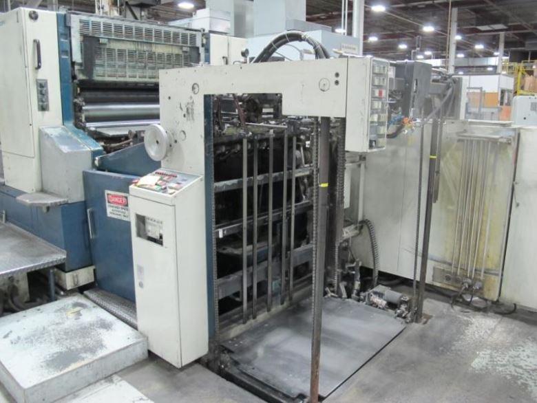 Eight Colour Offset Printing Machine Komori L 840 P