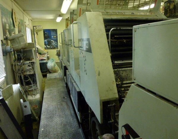 Five Colour Offset Printing Machine Adast 755