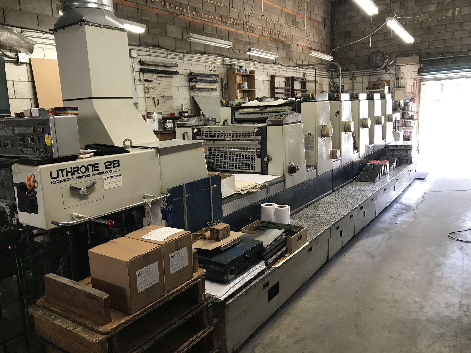 Five Colour Offset Printing Machine Komori L 526