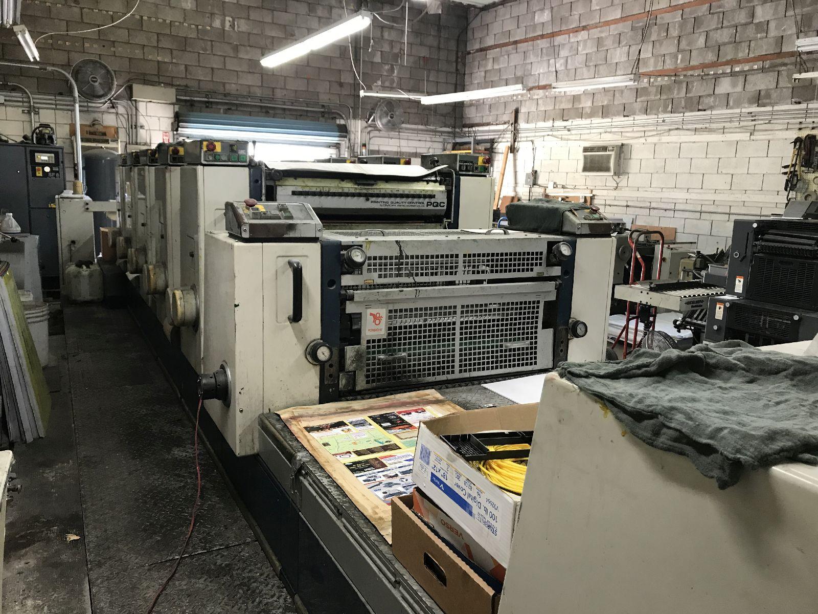 Five Colour Offset Printing Machine Komori L 532