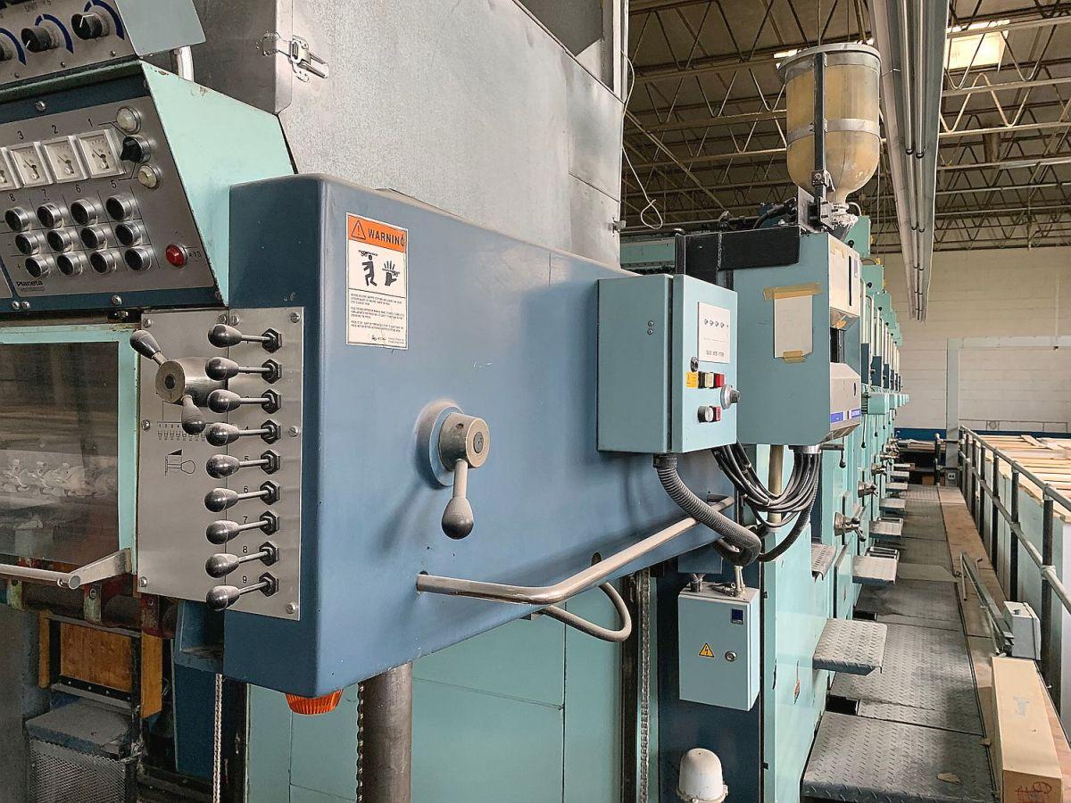 Five Colour Offset Printing Machine Planeta P 56