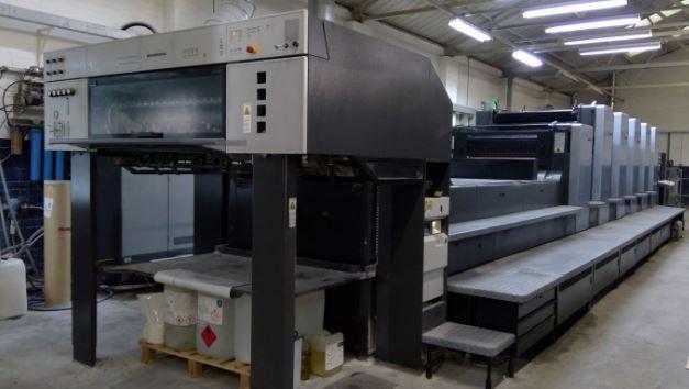 Five Colour Plus Coater Offset Printing Machine Sm 102 5 l
