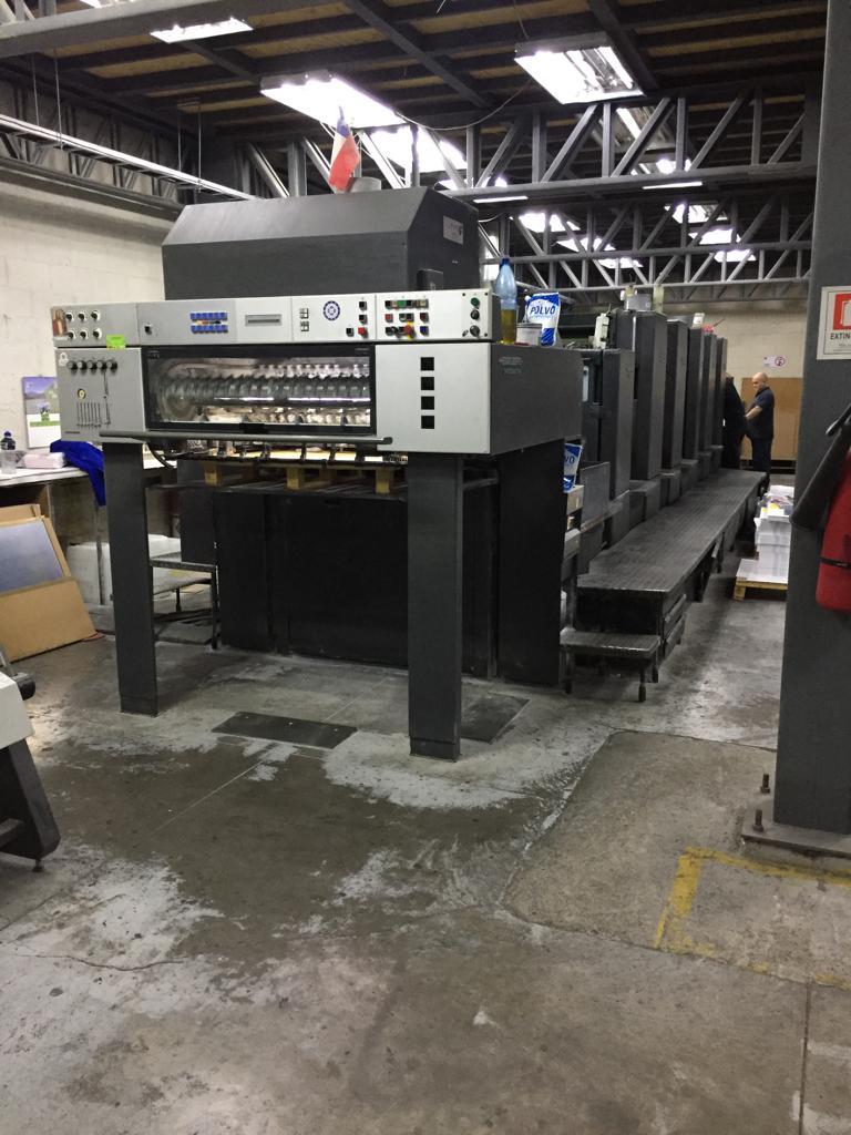 Five Colour Plus Coater Offset Printing Machine Sm 102 F L