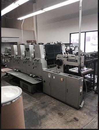 Four Colour Offset Printing Machine Akiyama 432