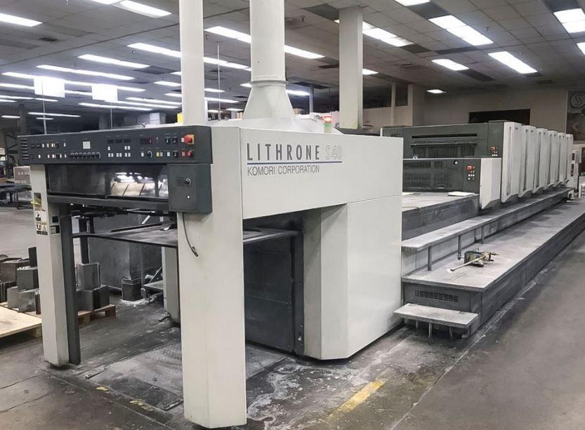 Four Colour Offset Printing Machine Komori L 428
