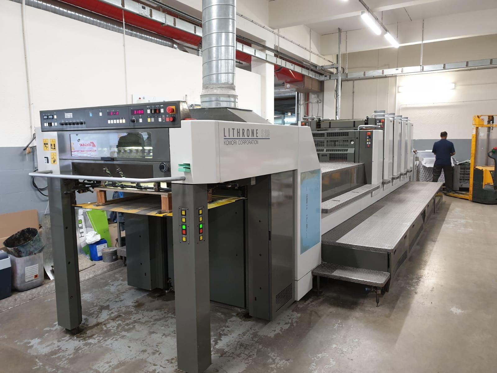 Four Colour Offset Printing Machine Komori L 432