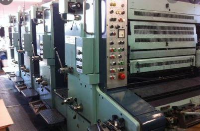 Four Colour Offset Printing Machine Planeta P 44