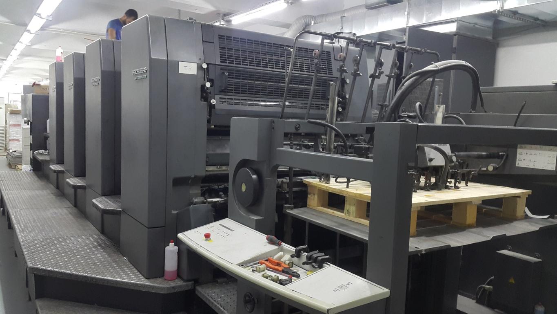 Four Colour Offset Printing Machine Sm 102 4