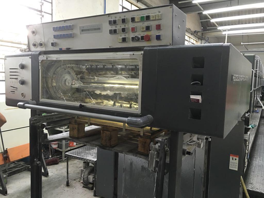 Five Colour Offset Printing Machine SM 72 F