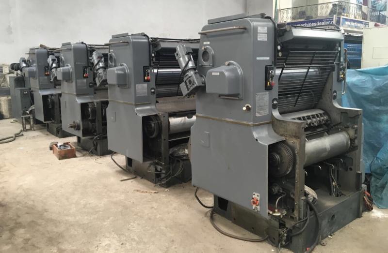 Four Colour Offset Printing Machine Sm 72 V