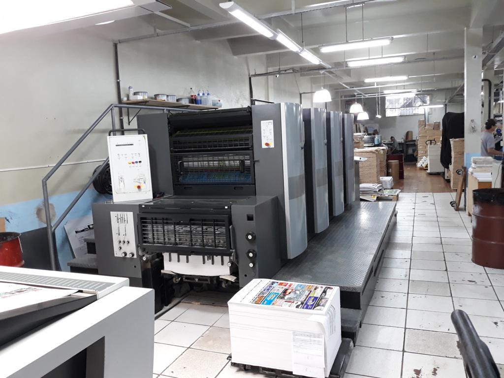 Four Colour Offset Printing Machine Sm 74 4