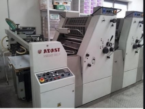 Double Colour Offset Printing Machine Adast 725 Suppliers in Mirzapur