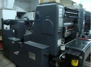 Double Colour Offset Printing Machine Polly 266 Suppliers in Gir Somnath