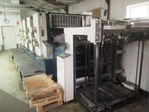 Four Colour Offset Printing Machine Komori L 420 Suppliers in Panchmahal