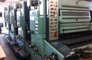 Four Colour Offset Printing Machine Planeta P 44 Suppliers in Surendranagar