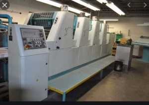 Four Colour Offset Printing Machine Polly 466 Suppliers in Raisen