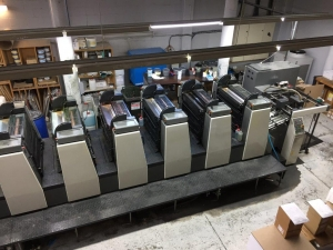 Komori L 628 C Suppliers in Gandhinagar