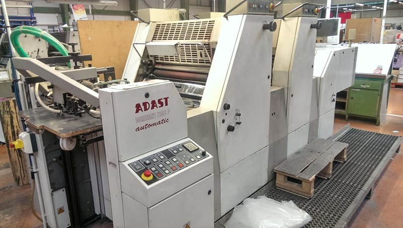 Double Colour Offset Printing Machine Adast 725 Suppliers in Bhind