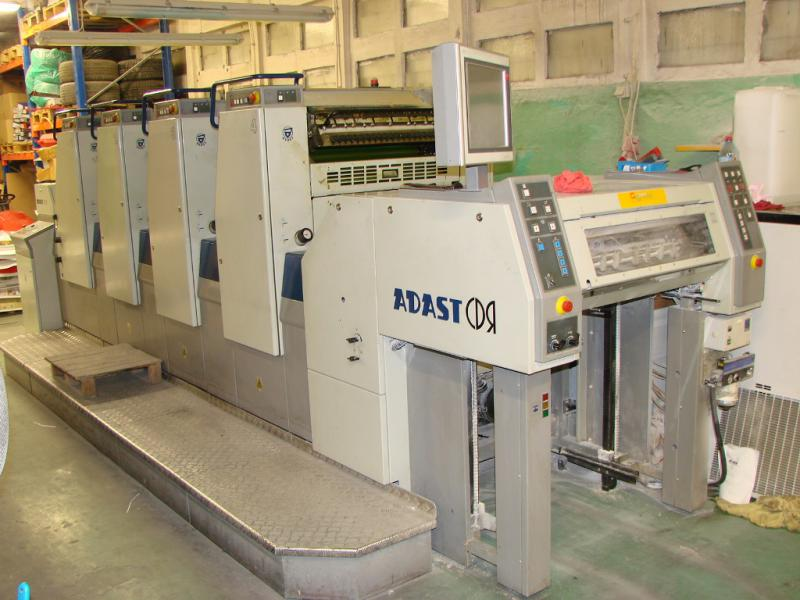 Four Colour Offset Printing Machine Adast 747 Suppliers in Dewas