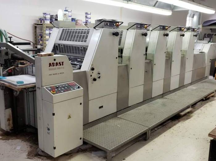 Five Colour Offset Printing Machine Adast 755 Suppliers in Moradabad