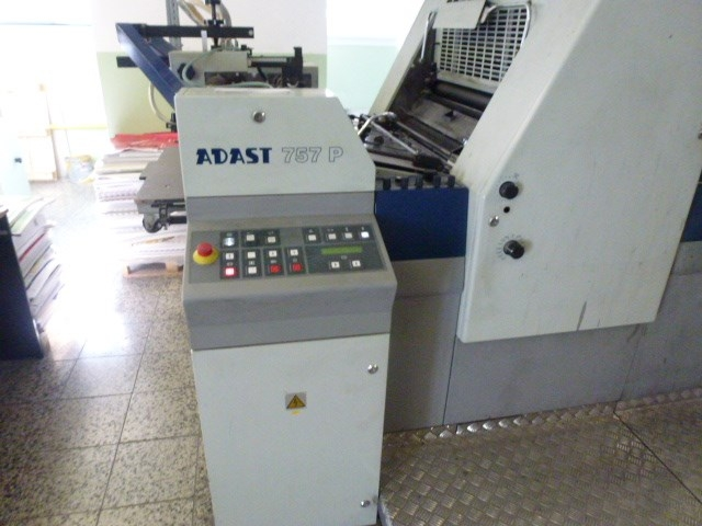 Five Colour Offset Printing Machine Adast 757 Suppliers in Shivpuri