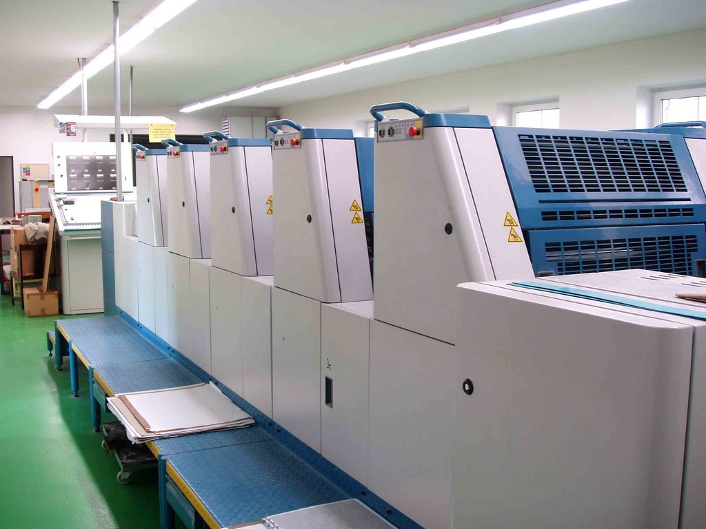 Five Colour Offset Printing Machine Kba 66 5 Suppliers in Shivpuri