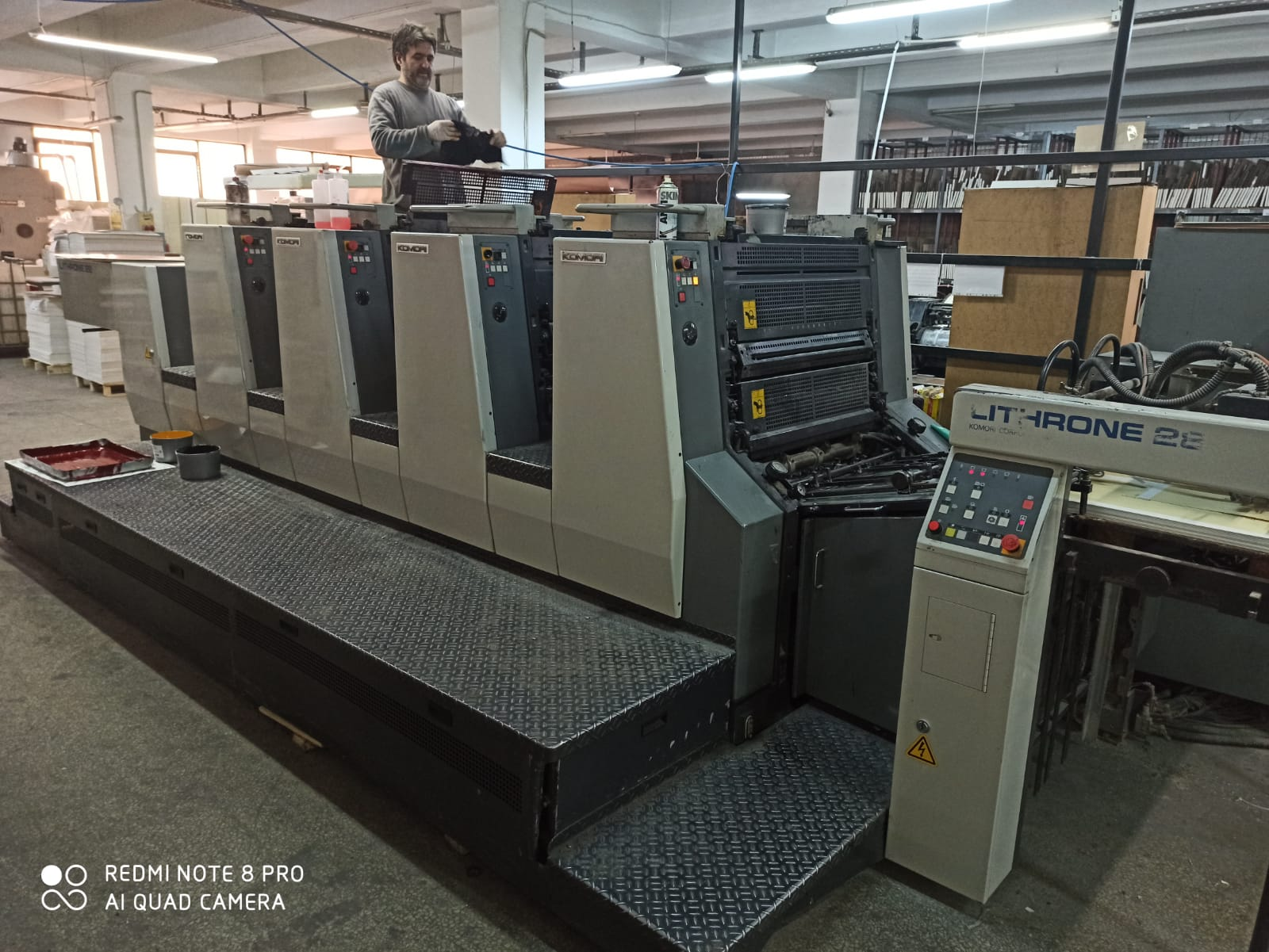 Four Colour Offset Printing Machine Komori L 428 Suppliers in Junagadh