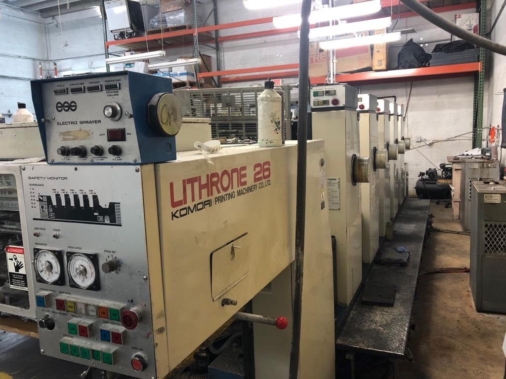 Five Colour Offset Printing Machine Komori L 526 Suppliers in Dindori