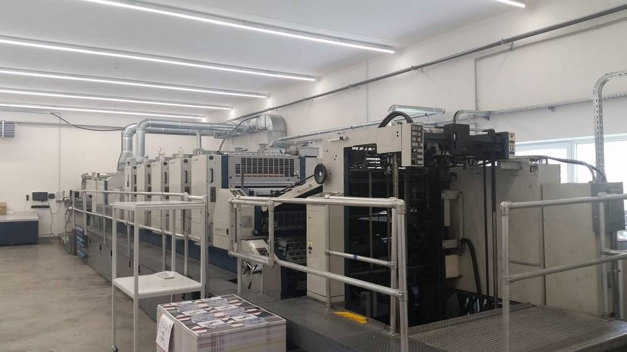 Five Colour Offset Printing Machine Komori L 540 Suppliers in Moradabad