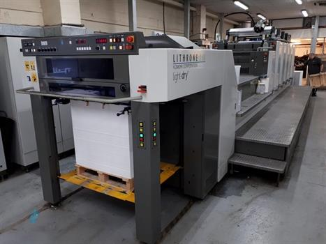 Five Colour Offset Printing Machine Komori LS 529 Suppliers in Dindori
