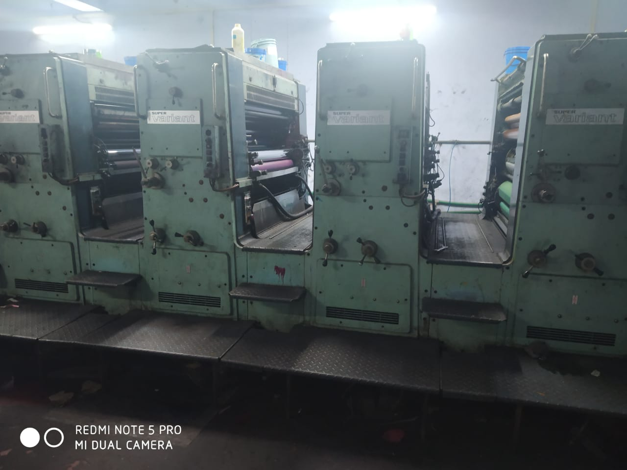 Four Colour Offset Printing Machine Planeta P 44 Suppliers in Panchmahal