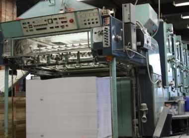 Four Colour Offset Printing Machine Planeta P 46 Suppliers in Nepal