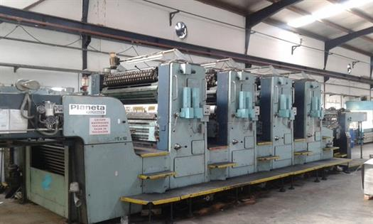 Four Colour Offset Printing Machine Planeta P 48 Suppliers in Dewas