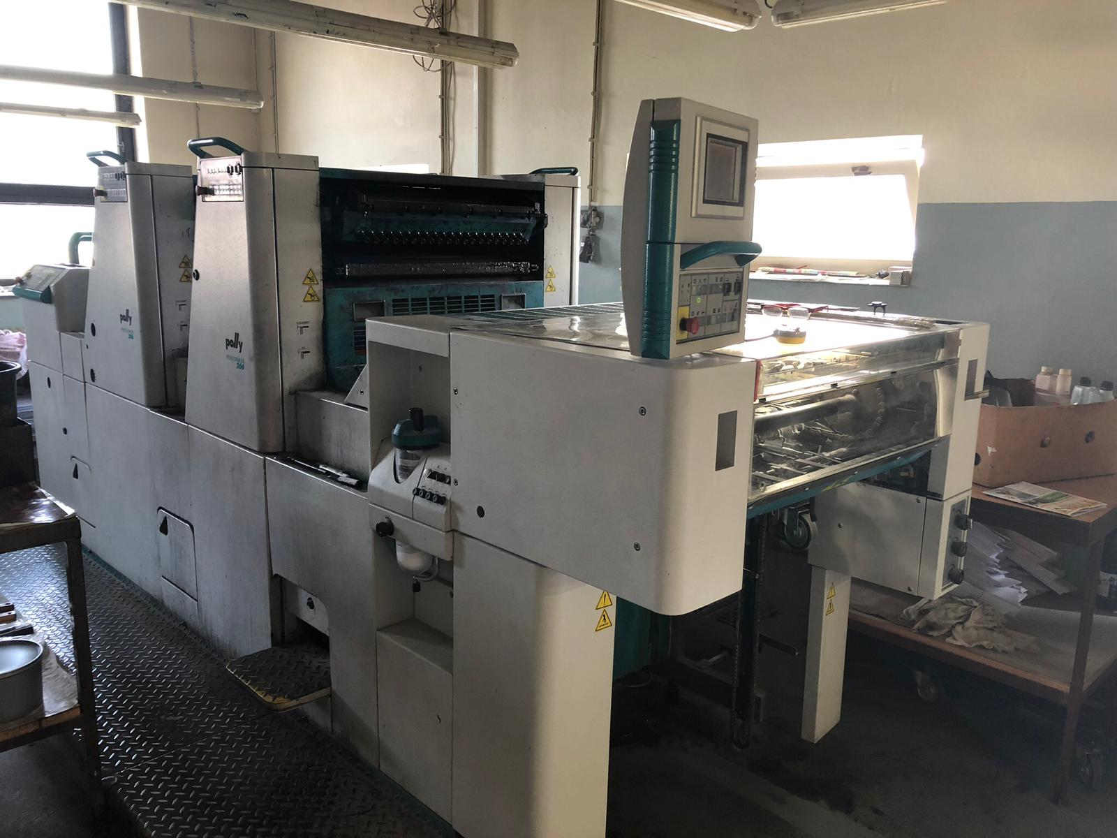 Double Colour Offset Printing Machine Polly 266 Suppliers in Panna